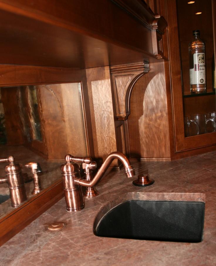 Bar Sink Basement bar Pinterest