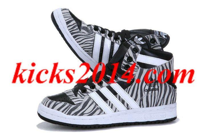 2013 ADIDAS Original superstar high top loves shoes black white
