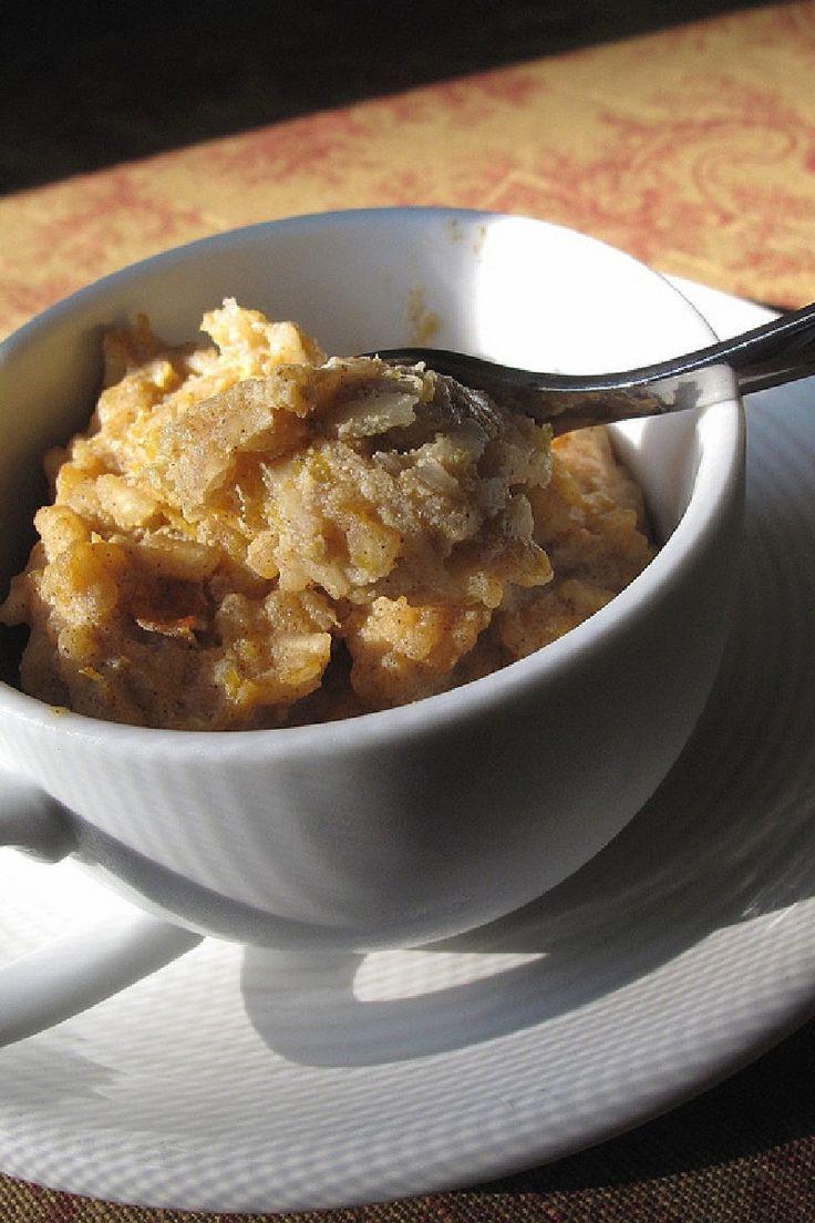 Pumpkin Rice Pudding Dessert #Recipe   fruit desserts   Pinterest