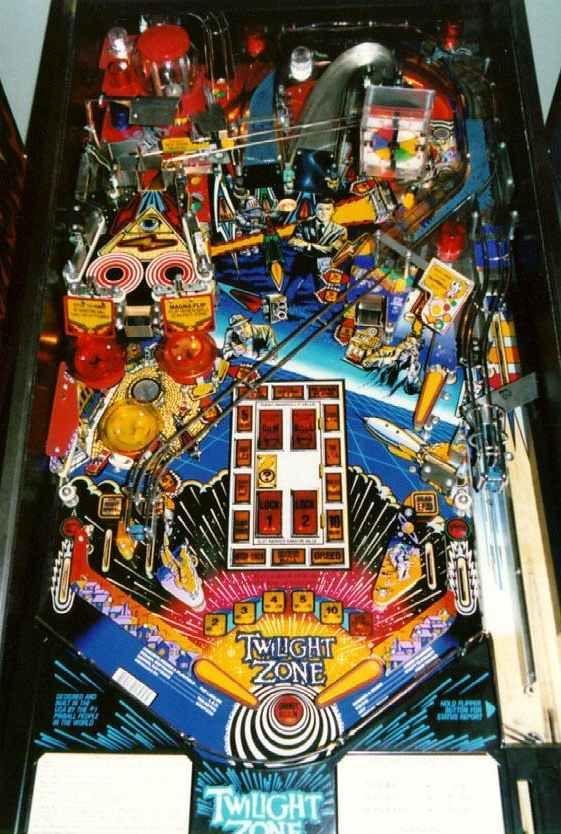 twilight zone pinball machine