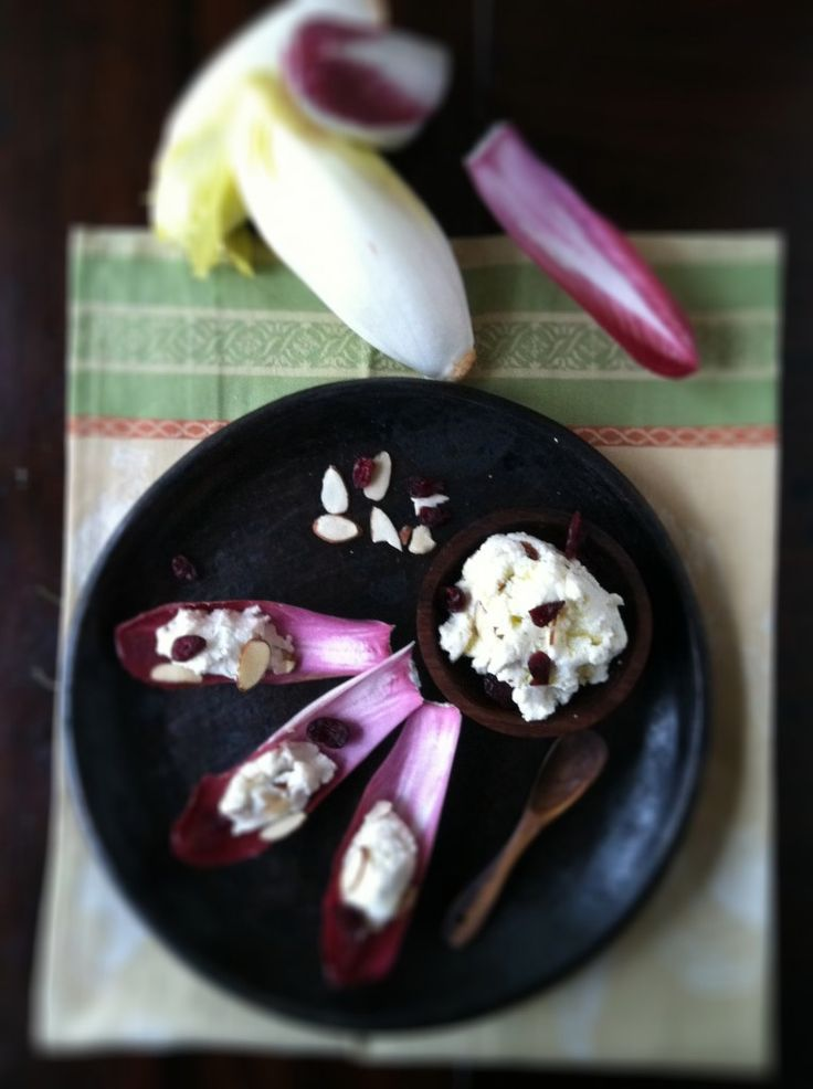 Ricotta and Endive Appetizer from @Paula - bell'alimento