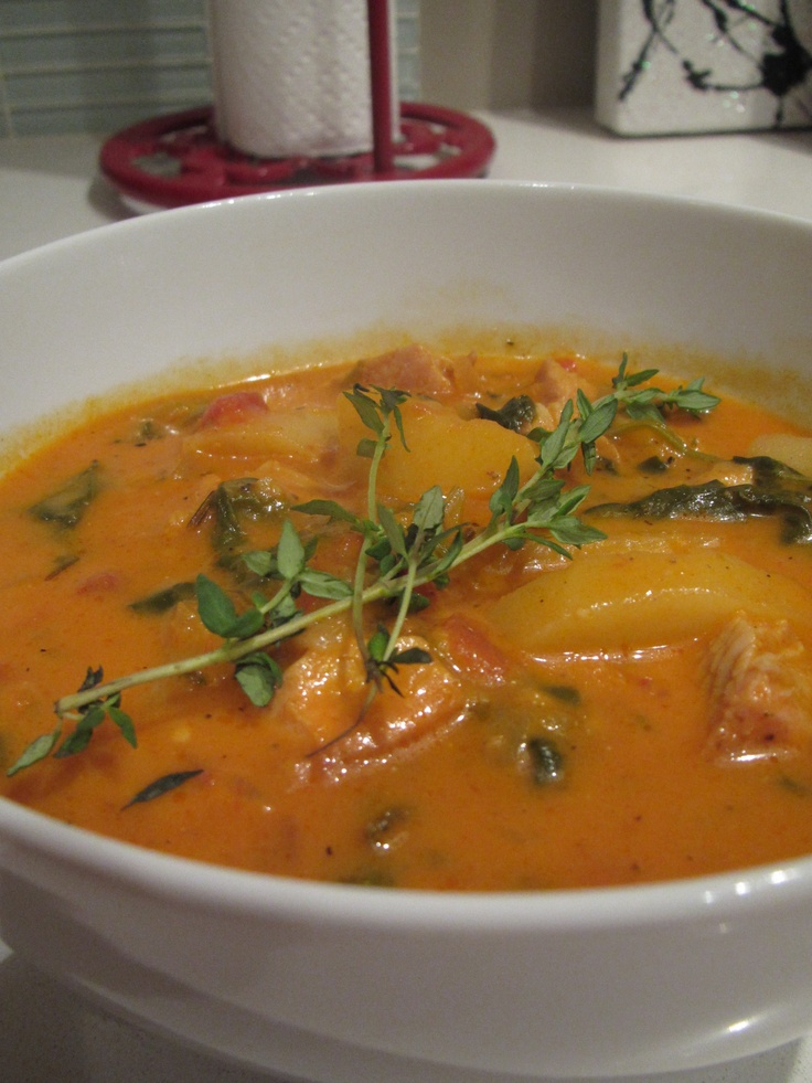 Chunky Turkey Vegetable Soup | HEALTHY EATING | Pinterest