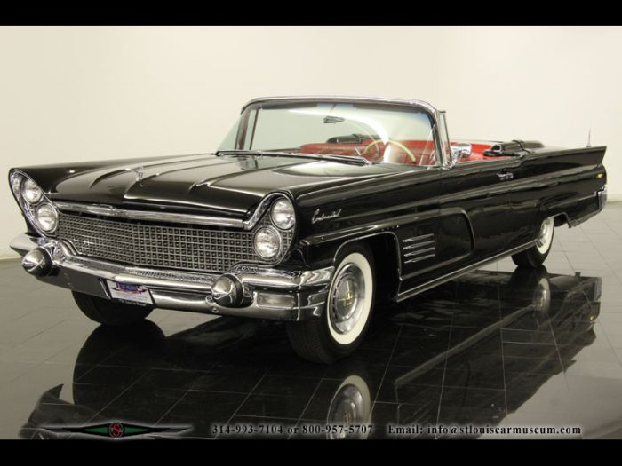 1960 lincoln continental convertible classic or cool. Black Bedroom Furniture Sets. Home Design Ideas