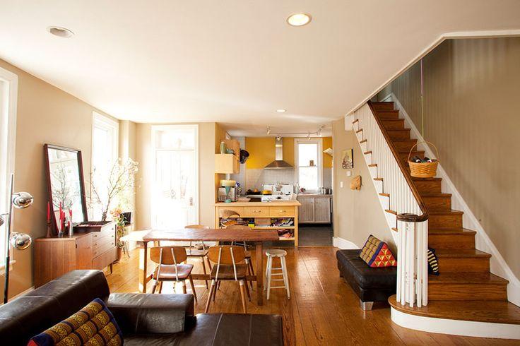 Philadelphia Row Homes DesignNehez For The Home Pinterest