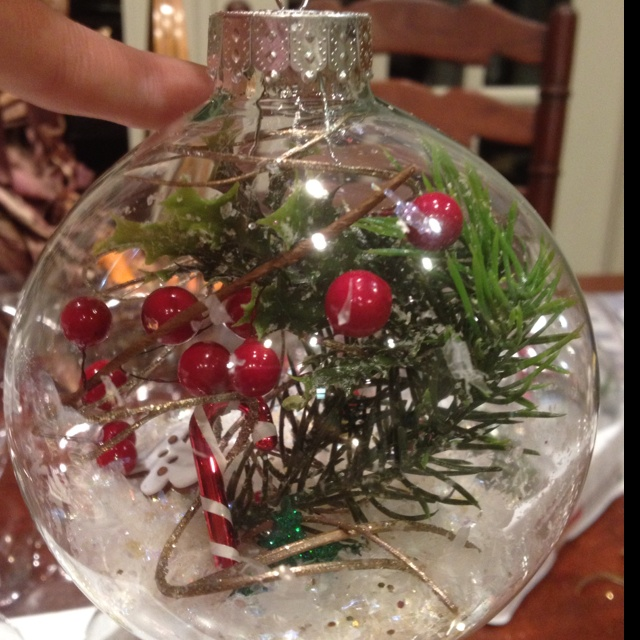 Homemade Christmas Ornament Home Decor Pinterest
