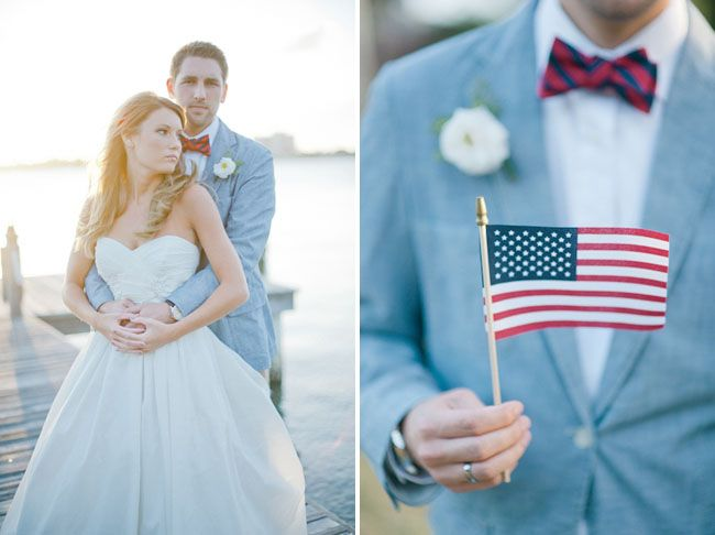 memorial day wedding theme