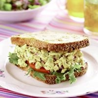 Curried Chicken Salad Sandwich Recipe by Alice's Teacup