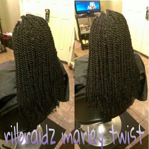 Marley twist by rilbraidz braidery dmv braider