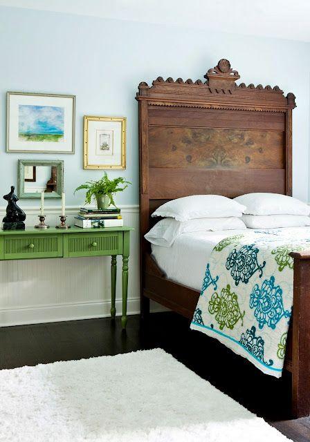 green + blue + white + wood