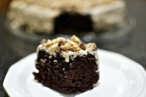 Chocolate-peanut butter fun cake | To eat and drink | Pinterest