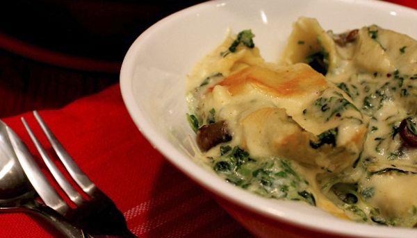 White Lasagna Macaroni & Cheese « 30 Days 30 Ways with Macaroni ...