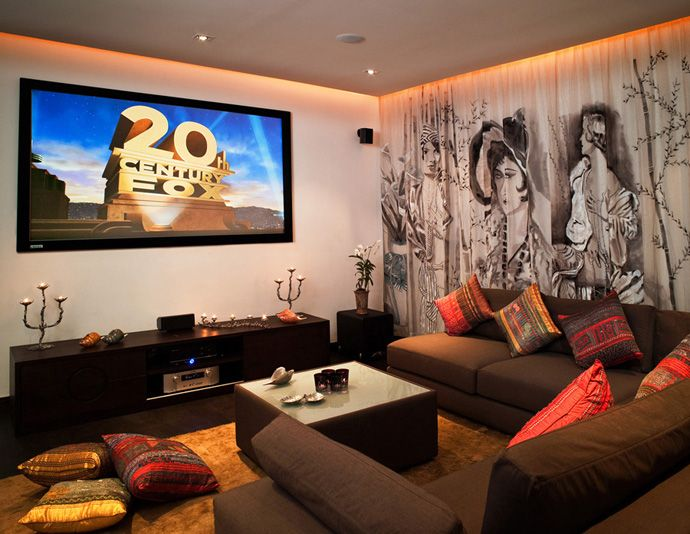 Living Room Home Cinema Cinemas