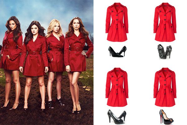 Pretty Little Liars Costumes, DIY Group Ideas for Halloween 2013 | Teen.com