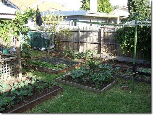 How to build a cheap raised garden bed garden crafts - Build raised garden bed cheap ...