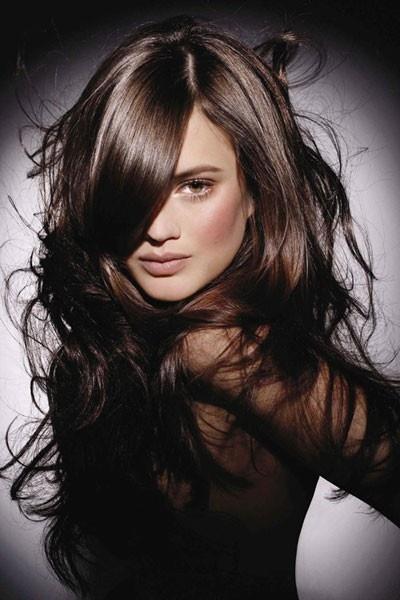 Shiny hair..