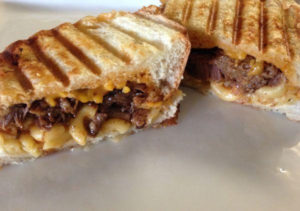 Fancy Grilled Cheese // BBQ Mac n Cheese | MMMMMMMMMM.....Yum! | Pi ...