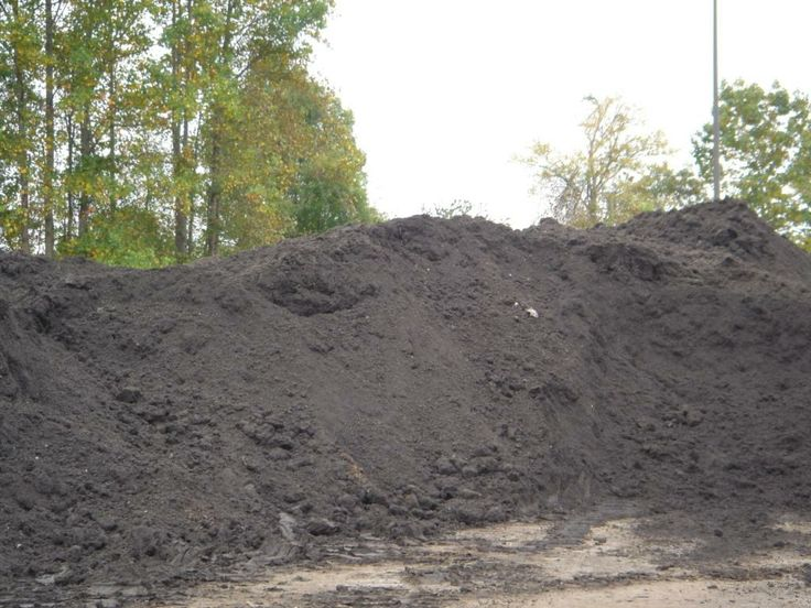 Backyard Mulch Pile : Compost Pile  Get compost from the city of Raleigh yard waste center