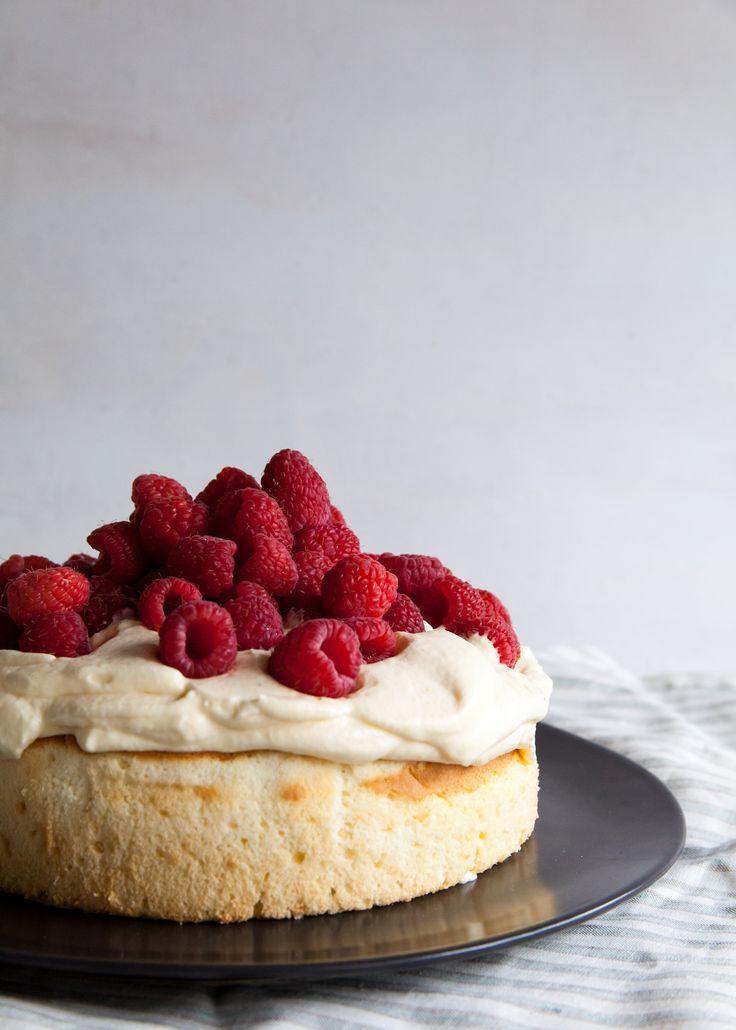 Coconut-Lemon Mousse Cake