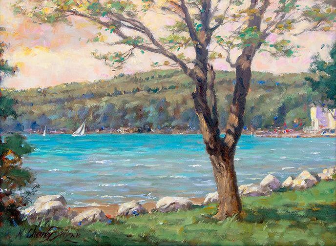 Walloon lake kathleen chaney fritz beautiful artwork 5 pinter