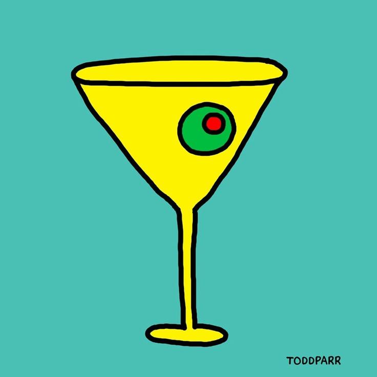 Mad Men Martini, Teal | Mad Men Madder Women | Pinterest