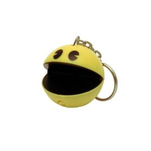 Pacman keychain with sound
