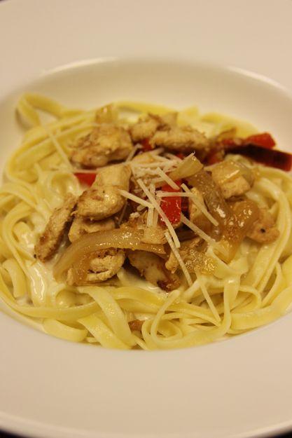 Chicken Fettuccine Alfredo | Recipe