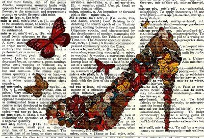 Antique Dictionary Shoe Art Print by the Nommon Etsy shop