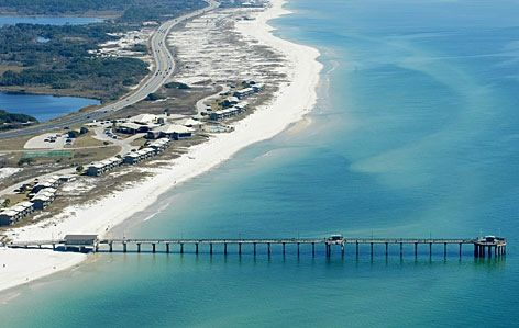 The fishing pier in gulf shores al gulf shores pinterest for Pier fishing gulf shores al