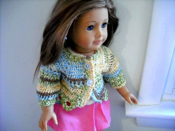 Doll Sweater by Justgirlswithyarn on Etsy, $8.50