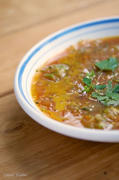 Zucchini Soup - add a can of chopped tomatoes to give it more of a red ...