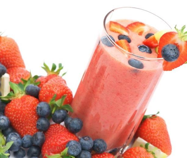 Mixed Berry Smoothie | Food | Pinterest