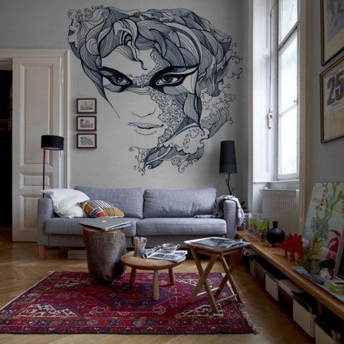 Decoracion En Paredes Interiores ~ Found on decoracionde interiores com