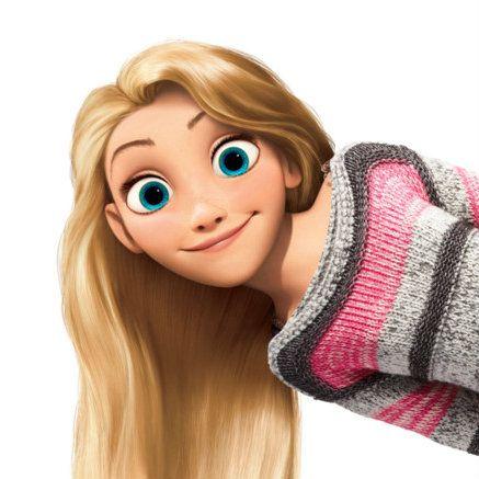 Rapunzel Coloring Pages Online #8