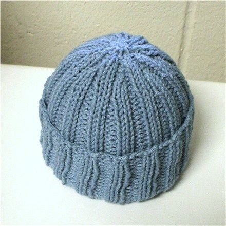 Knitting Pattern For A Ribbed Hat : Pin by Sherry Pechacek on Knitting & Stitching Pinterest