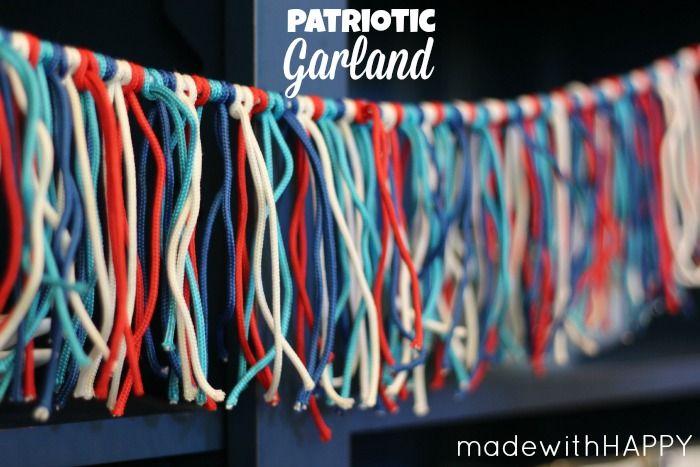 4th of july garland