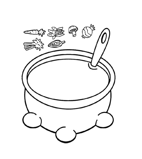 campbells soup coloring pages - photo#26
