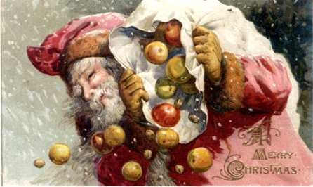 Santa amp apples santas from different countries pinterest