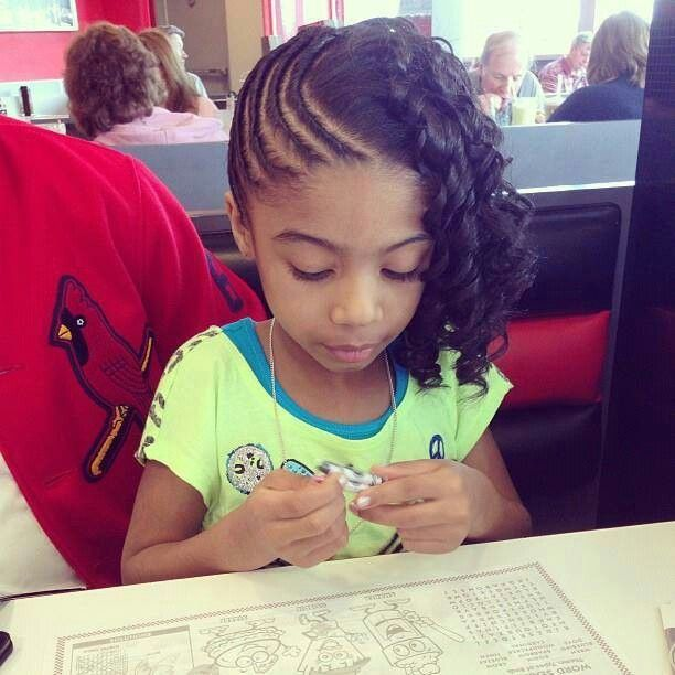 Pin by *MsKrystle* on Lil Girl Hairstyles | Pinterest