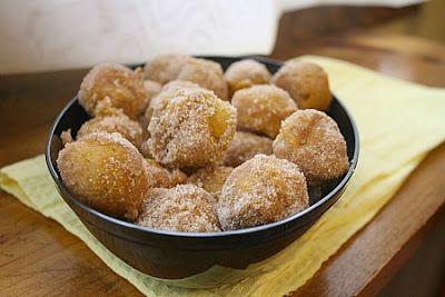 Baked Pumpkin Donut Holes | Fall Themed Parties & Halloween & Thanksg...