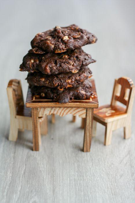 Chocolate Caramel Pecan Cookies | Cookies, cookies....and more cookie ...