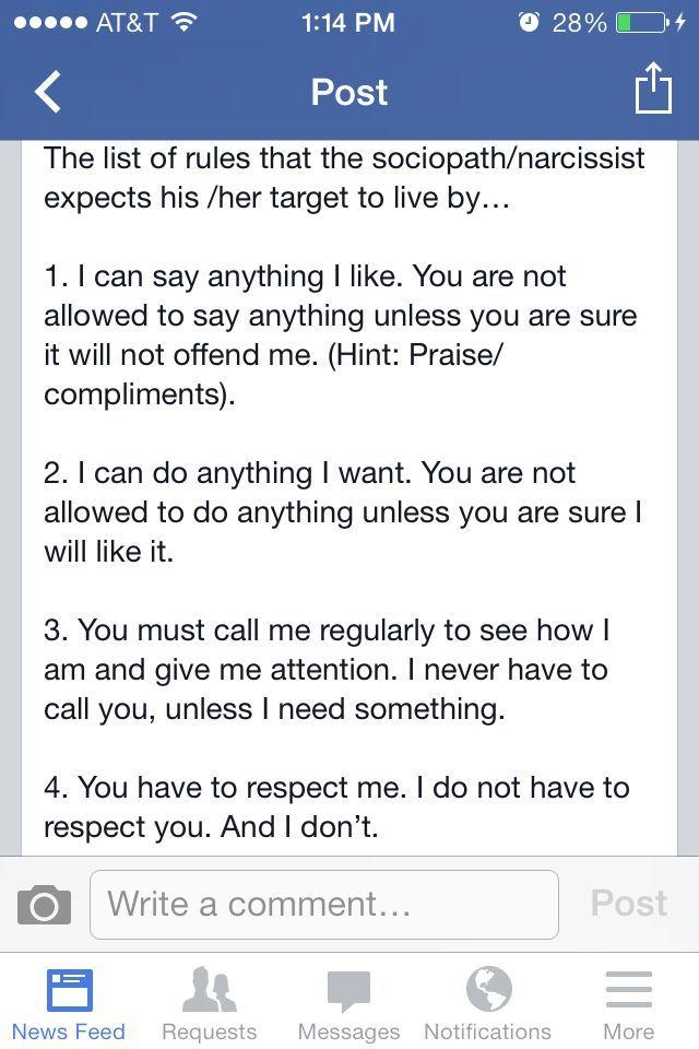 Dating a narcissist blog