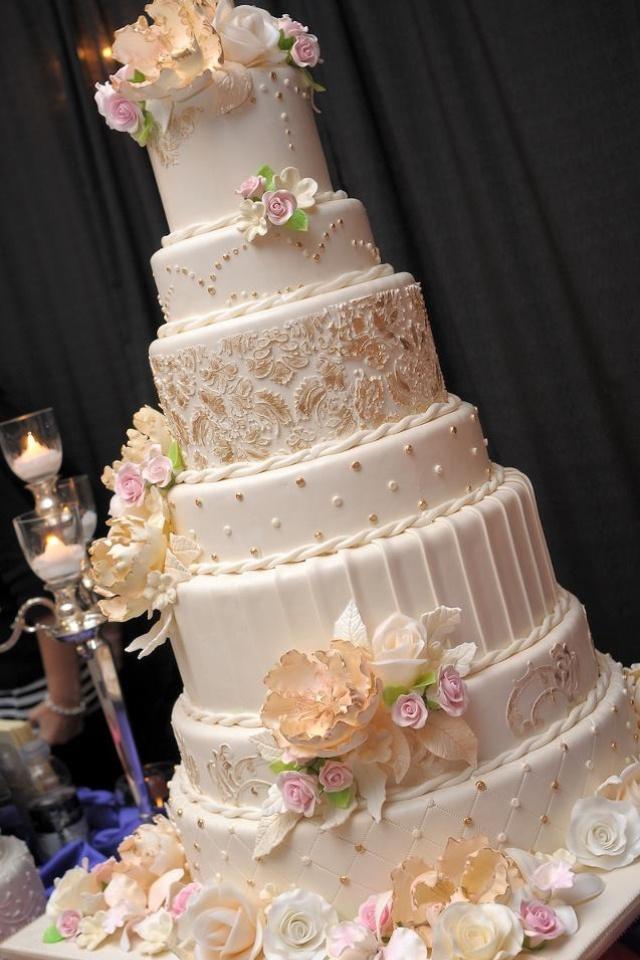Wedding Cake Images Pinterest : Wedding cake Wedding Pinterest