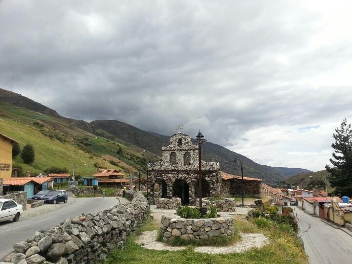 Mérida.Venezuela. iglesia de piedra.