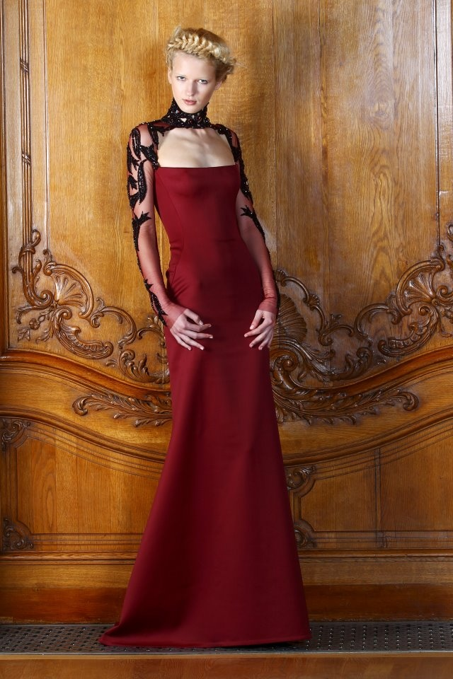 Dilek hanif haute couture red pinterest for Haute couture red