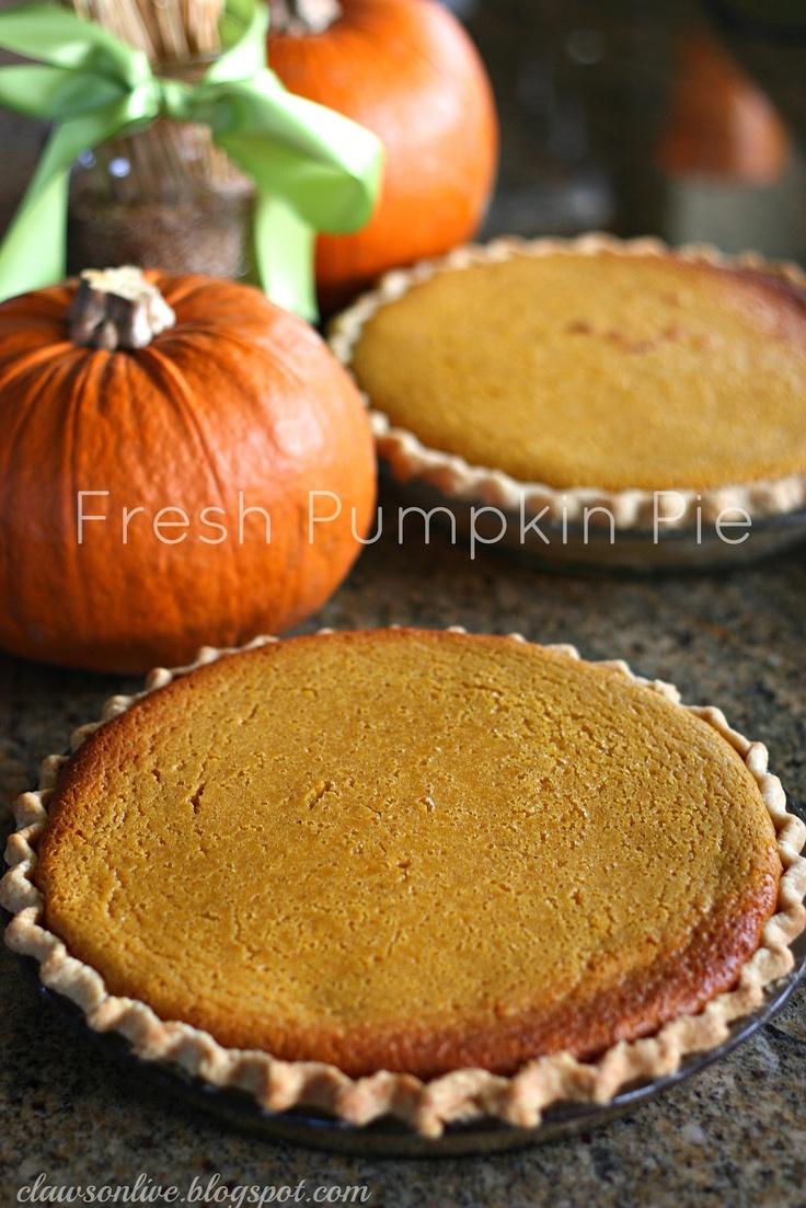 Thanksgiving without pumpkin pie? Canned pumpkin makes this sweet ...