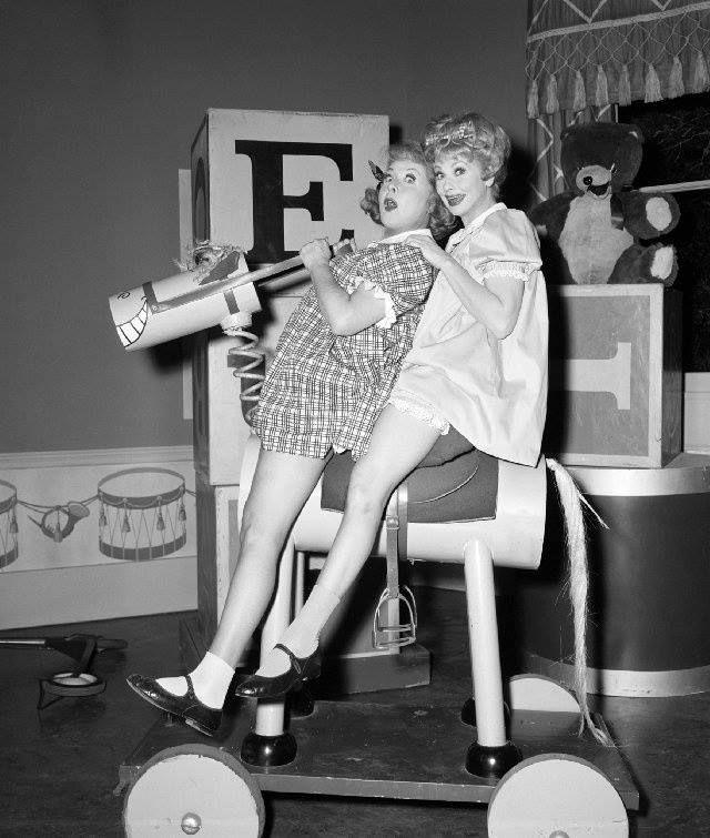 Vivian Vance and Lucille BallVivian Vance Lucille Ball