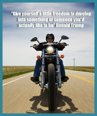 My favourite quote of the week from Donald Trump