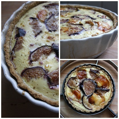 Figs, goat cheese, and caramelised onions make for a delicious sweet ...
