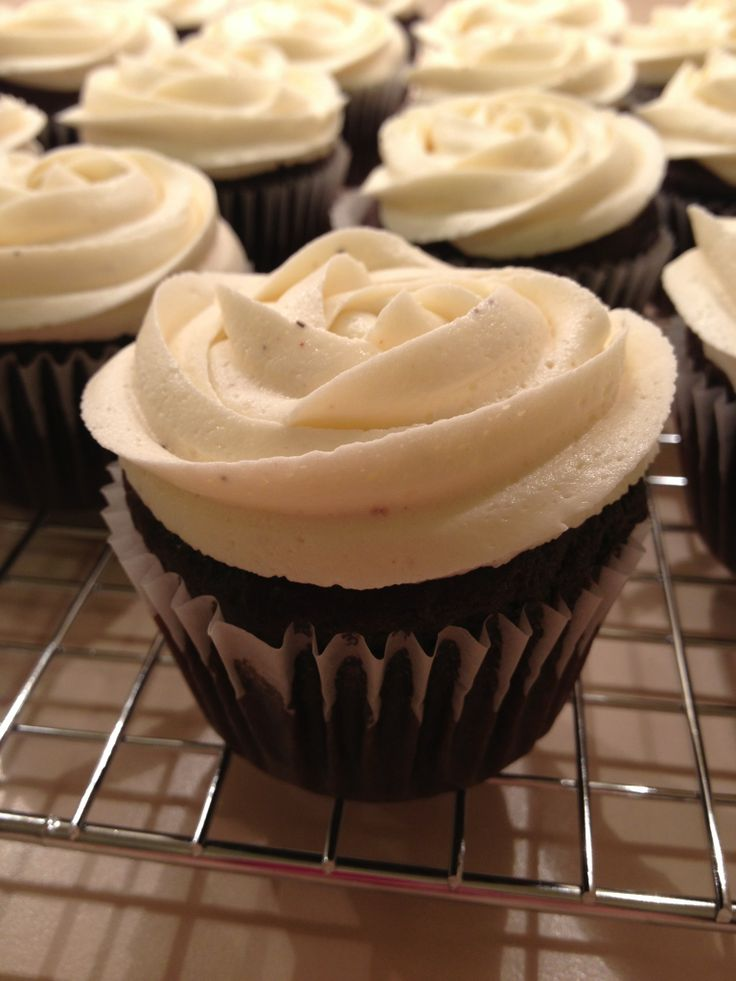 How to Make Spiced Chocolate Cupcakes With Eggnog Icing | Recipe