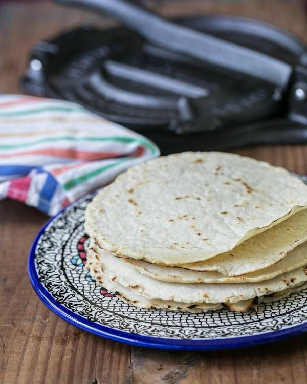 Homemade Corn Tortillas | Recipe
